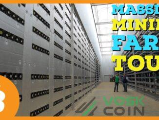 MASSIVE Crypto Mining Farm Tour   Bitcoin, Dash, and GPU Mining!