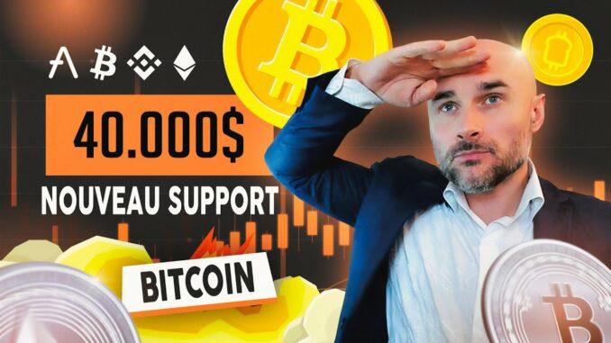 Bitcoin (BTC), renversement haussier bien construit – L'Analyse Technique de Vincent Ganne