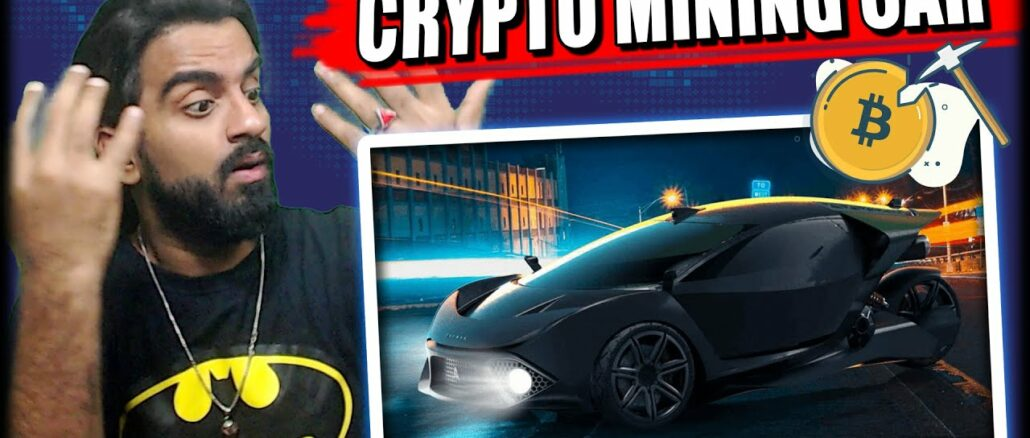 World First Cryptocurrency Mining Electric Car    Tech 305